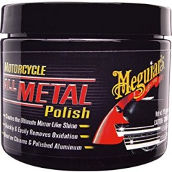 MEGUIAR'S MOTORCYCLE ALL METAL POLISH MC20406