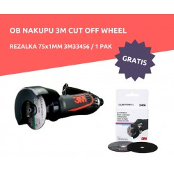CUT OFF WHEEL REZALKA 3M33579 + GRATIS REZALKA 75x1MM 3M33456 /5KOS